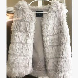 Jackets & Coats - Never worn faux fur vest